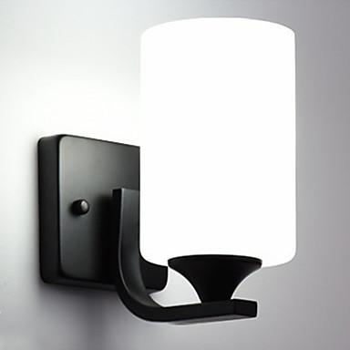 Uusi malli Yksinkertainen / Moderni nykyaikainen Olohuone / Sisällä Metalli Wall Light 110-120V / 220-240V 60 W
