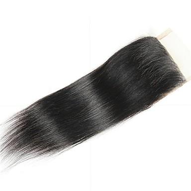baratos Extensões de Cabelo Natural-1 pacote Cabelo Brasileiro Liso Cabelo Natural Remy Cabelo Humano Ondulado Cabelo Bundle Extensões de Cabelo Natural 8-20inch Côr Natural Tramas de cabelo humano Recém nascido Cascata Fofinho