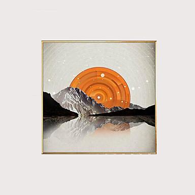 abordables Toiles-Imprimé Impressions sur toile roulées - Abstrait Classique Art Prints