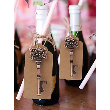 billige Flaskegaver-Ikke-personalisert Chrome Hotel Fasiliteter / Flaskelås / RFID-knapper Kreativ / Bryllup Flaskegave
