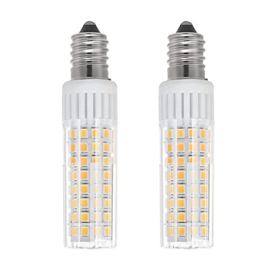 billige Elpærer-2pcs 7.5 W LED-kornpærer 937 lm E14 T 100 LED perler SMD 2835 Varm hvit Kjølig hvit 85-265 V