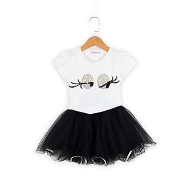 aea6970054a Χαμηλού Κόστους Σετ ρούχων για κορίτσια-Παιδιά / Νήπιο Κοριτσίστικα Ενεργό  / Βασικό Μονόχρωμο /