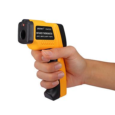 voordelige Test-, meet- & inspectieapparatuur-zoyi gm320 handheld digitale laser lcd-scherm ir infrarood thermometer -50 tot 380 graden automatische temperatuurmeter sensor pistool bz