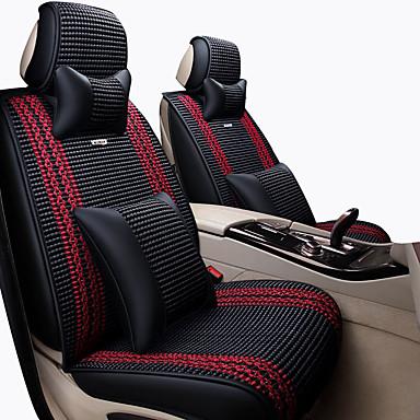 voordelige Auto-interieur accessoires-Auto-stoelhoezen Hoofdsteun en taille kussensets Grijs / Koffie / Blauw synthetische vezel Zakelijk Voor Universeel Alle jaren Algemene motoren
