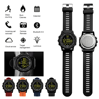 cheap Smartwatches-JSBP EX17S Men Smartwatch Android iOS Bluetooth Smart Sports Waterproof Calories Burned Information Timer Stopwatch Pedometer Call Reminder Sleep Tracker / Alarm Clock / Gravity Sensor / Chronograph