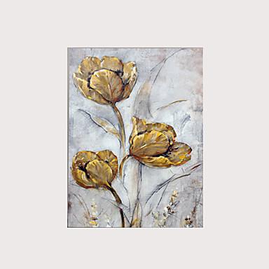 Print Valset lærred Udskriv - Blomstret / Botanisk Klassisk Kunsttryk