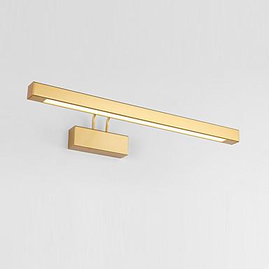 jsgylights uusi design johtanut / moderni nykyaikainen kylpyhuone valaistus makuuhuone / kylpyhuone metalli seinävalaisin ip20 85-265v 14 w turhamaisuus valo