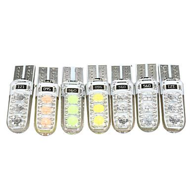 1 Kappale T10 Auto Lamput 3 W SMD 5050 5 LED sisävalot Käyttötarkoitus Toyota / Mercedes-Benz / Honda Kaikki mallit Kaikki vuodet
