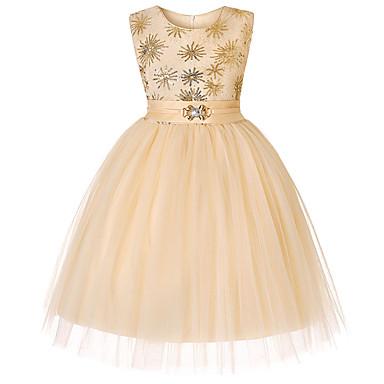 b5e4b87d6aa3cf preiswerte Kleider für Mädchen-Kinder   Baby Mädchen Aktiv   nette Art  Einfarbig   Schneeflocke