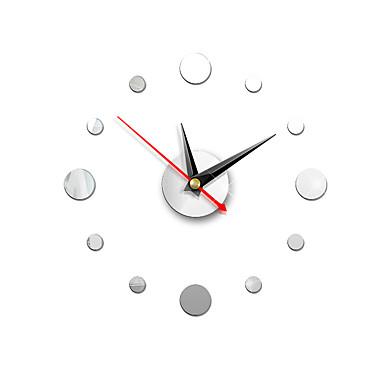 Wall Clock,European Fashion Acrylic Plastic Round Indoor