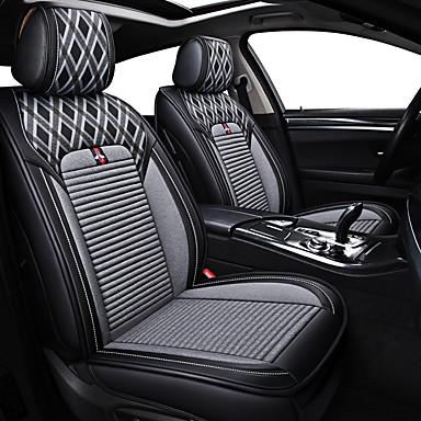 voordelige Auto-interieur accessoires-zakelijke voorste achter universele auto stoelhoezen kussen kits luxe voertuigen accessoires voor universele