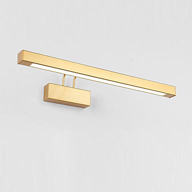 jsgylights uusi muotoilu johti / moderni nykyaikainen kylpyhuone valaistus makuuhuone / kylpyhuone metalli seinävalaisin ip20 85-265v 12 w turhamaisuusvalo