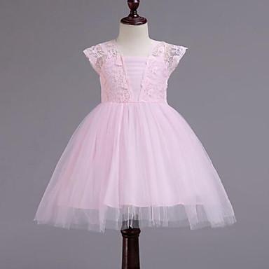 c611eca2d6e cheap Girls  039  Dresses-Kids Girls  039  Cute Patchwork Lace
