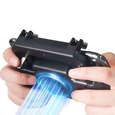 voordelige Smartphone gaming-accessoires-pubg controller gamepad pubg mobiele trigger l1r1 shooter joystick gamepad telefoonhouder koeler