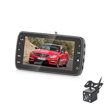 billige Bil-DVR-B305 720p Mini / HD / Dual Lens Bil DVR 170 grader Bred vinkel 3 tommers IPS Dash Cam med G-Sensor / Parkeringsmodus / Loop-cycle Recording Nei Bilopptaker