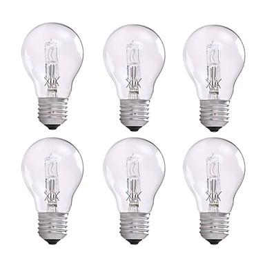 povoljno Žarulje-6kom a55 halogene žarulje 42w 230v antičke vintage žarulje dimmable e27 jasno 2800k toplo bijelo