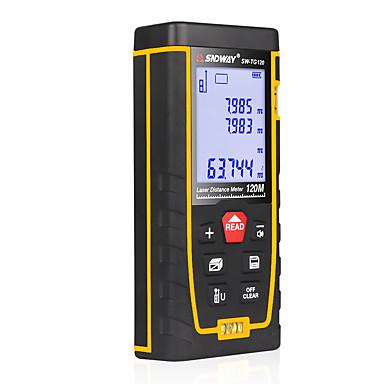 voordelige Waterpasinstrumenten-sw-tg120 dubbele horizontale bellenafstandsmeter laserafstandsmeter afstandsmeter handgereedschap apparaat