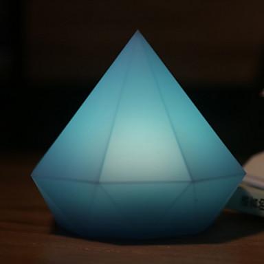 1kpl LED Night Light Sininen USB Luova <=36 V