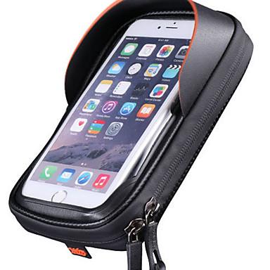 Kännykkäkotelo Pyörän 6 inch Vedenkestävä Pyöräily varten Pyöräily Musta Ulkoliikunta Pyöräily / Pyörä Pyörä