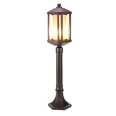 billige Utendørsbelysning-QINGMING® 1pc 60 W plen Lights Vanntett Varm hvit / Kjølig hvit 220-240 V / 110-120 V Utendørsbelysning / Courtyard / Have 1 LED perler