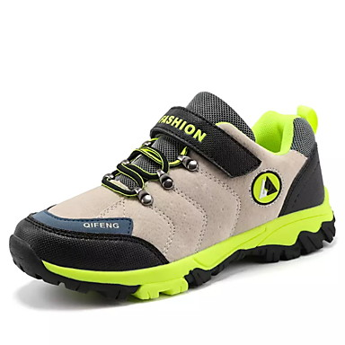 baratos Sapatos de Criança-Para Meninos Couro Ecológico Tênis Little Kids (4-7 anos) / Big Kids (7 anos +) Conforto Aventura Bege / Cinzento Claro / Khaki Primavera / Borracha