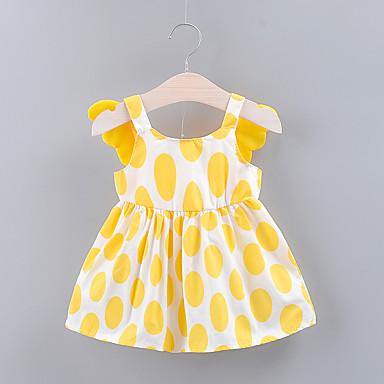 d65f76868 cheap Baby Girls' Dresses-Baby Girls' Basic Geometric Mesh