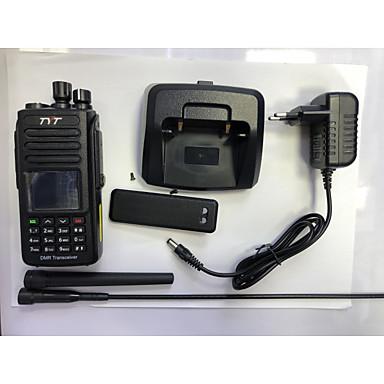tanie Krótkofalówki-md-uv390 ręczny wodoodporny 3km-5km 3km-5km walkie talkie radiotelefon dwukierunkowy