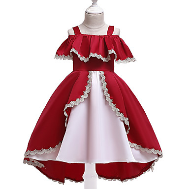 9d7c187f3 cheap Girls' Dresses-Kids Girls' Active Street chic Solid