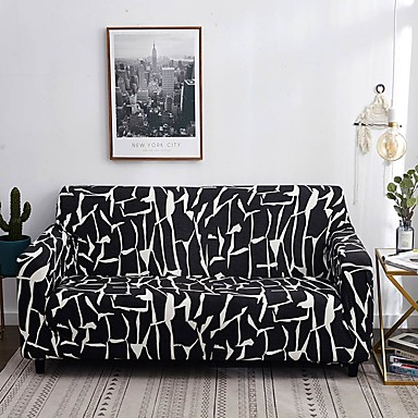 cheap Slipcovers-Sofa Cover Contemporary Reactive Print Polyester Slipcovers