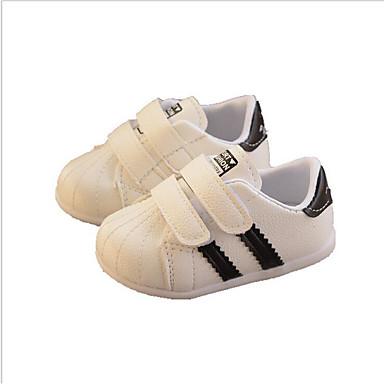 povoljno Za uzrast 0-9 mjeseci.-Djevojčice PU Sneakers Dojenčadi (0-9m) / Dijete (9m-4ys) Cipele za bebe Crn / Crvena Proljeće / Jesen