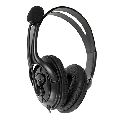 3 5mm Jack Wired Over-Head Gaming Headset Stereo Headphones