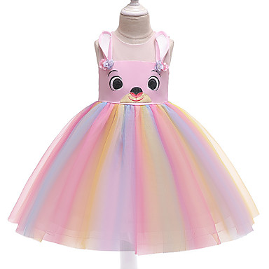 3e76503f7 cheap Girls' Clothing-Kids Girls' Active Street chic Rainbow