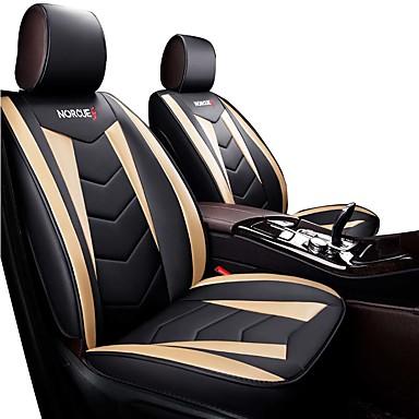 voordelige Auto-interieur accessoires-vijf zitplaatsen / algemene motoren stoelbekleding / all inclusive vier seizoenen universele zitset lederen zitgroep vier seizoenen universele fo autokussen