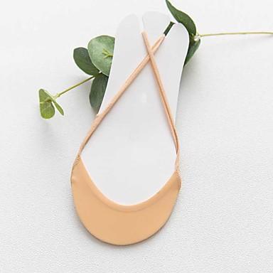 abordables Accessoires pour Chaussures-1 paire Femme Chaussettes Standard Couleur Pleine Leg Shaping Coton EU36-EU46