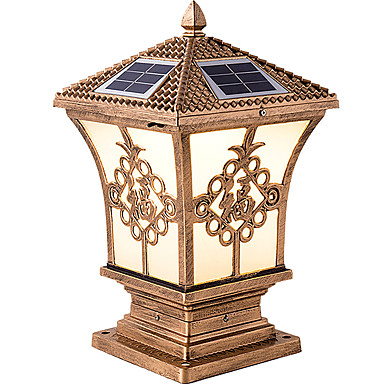 저렴한 실외 조명-QINGMING® 1 개 2 W 잔디 등 방수 / 태양의 / 조명 제어 따뜻한 화이트 + 화이트 3.7 V 실외 조명 / 안마당 / 가든 1 LED 비즈