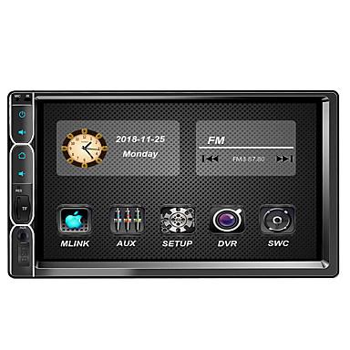 tanie Samochodowy odtwarzacz  DVD-7 in 2 DIN Windows CE Samochodowy odtwarzacz MP5 Wbudowany Bluetooth / Kontrola kierownicy / Pilot zdalnego sterowania na Univerzál / Motocykle Bluetooth Wsparcie MPEG / AVI / MOV MP3 / WMA / WAV