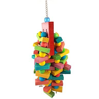 povoljno Oprema za ptice-Ptica Stalci i ljestve Drvo Pet Friendly / Fokus igračka / Igračke od pepela / tkanine 40 cm