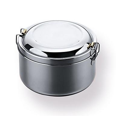 1pc קופסאות אחסון מתכת אל חלד Creative מטבח גאדג'ט עבור כלי בישול