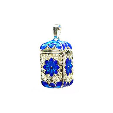 abordables Collier-Femme Pendentif Médaillon Broche Bijoux Violet Bleu Pour Quotidien Plein Air