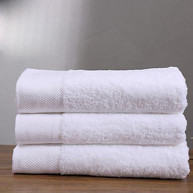איכות מעולה מגבת אמבטיה, אחיד 100% פוליאסטר חדר אמבטיה 2 pcs
