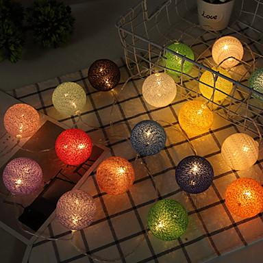 1m חוטי תאורה 10 נוריות לבן חם דקורטיבי 5 V 1set
