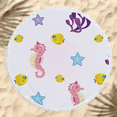 איכות מעולה מגבת חוף, חיה 100% סיב מיקרו 1 pcs