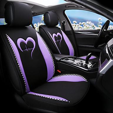 voordelige Auto-interieur accessoires-autostoelhoes ademend boekweit linnen vier seizoenen autokussen vijf stoelen / algemene motoren stoelhoes jeugdstijl