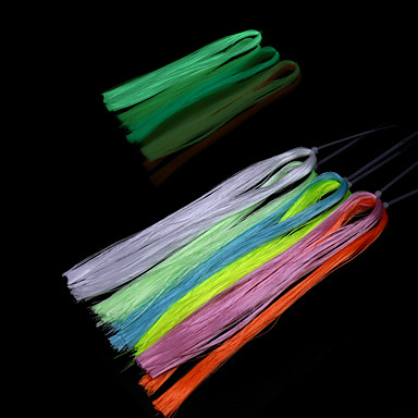 6 pcs חוט דיג חומרים לדיג סיבי ניילון ראיית לילה דיג בים דיג בחכה דייג במים מתוקים / דיג בפתיון / דיג כללי