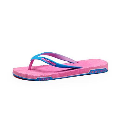 voordelige Damespantoffels & slippers-Dames Slippers & Flip-Flops Slippers Platte hak EVA Informeel Zomer Zwart / Blauw / Roze