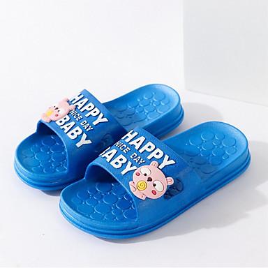 baratos Para Crianças de 0-9 Meses-Para Meninos / Para Meninas PVC Chinelos e flip-flops Crianças (0-9m) / Criança (9m-4ys) Conforto Fúcsia / Azul Primavera / Verão