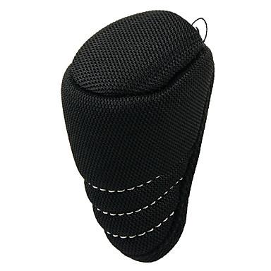 voordelige Auto-interieur accessoires-universele auto zwarte ritssluiting versnellingspook schakelknop cover