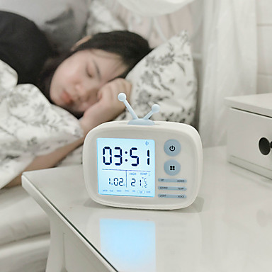 שעון מעורר דיגיטלי ABS דרגה A LED 1 pcs