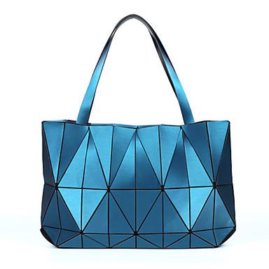 povoljno Dječje torbe-Žene / Djevojčice Patent-zatvarač Torba s ručkom sintetički Geometrijski uzorak Pink / Red / Bijela