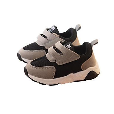 voordelige Babyschoenentjes-Jongens Comfortabel Suède Sportschoenen Kinderen / Peuter Hardlopen / Wandelen Grijs / Rood / Groen Lente / Zomer / Rubber